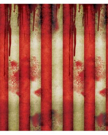 Wandfolie Blutbad im Zirkus