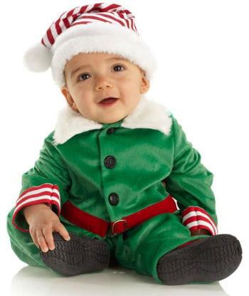 Weihnachts Elf Kinderkostüm S