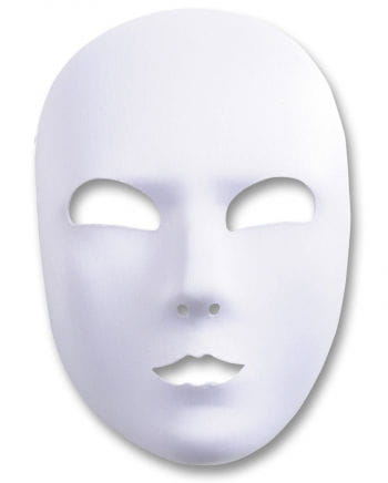 White satin Face mask