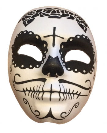 Sugar Skull Mask Black / White