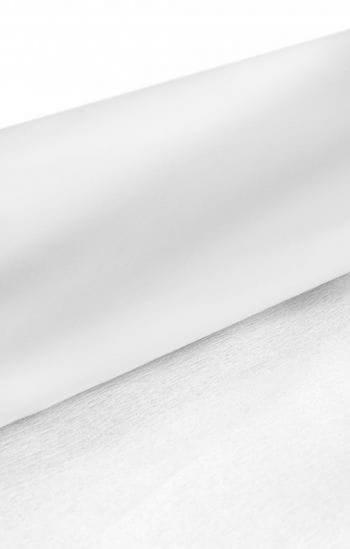 Niflamo Krepp Papier weiß 10 Meter