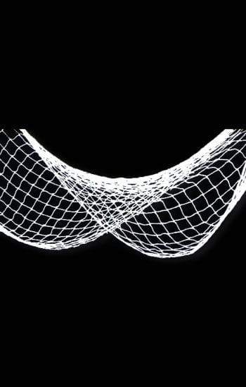 White fishing net
