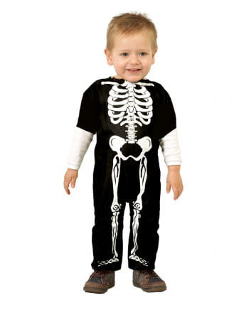Skeleton baby costume