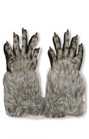 Werewolf Gloves Grey