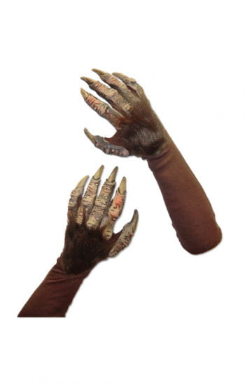 Werewolf Gloves Deluxe Brown