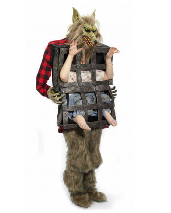 Werewolf Costume with cage