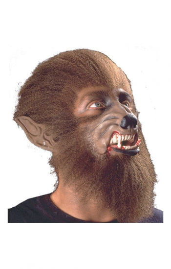 Werwolf Latex Maske