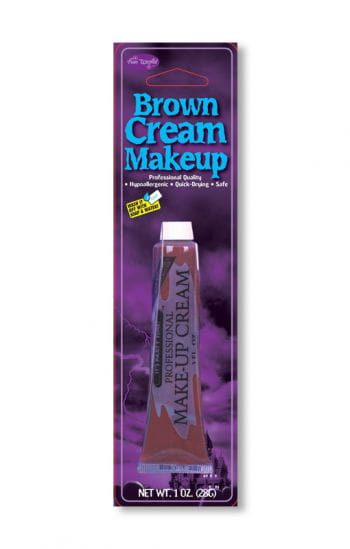 Professional Cream Makeup Brown