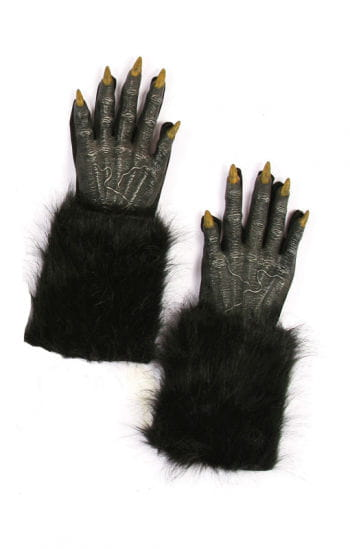 Werwolf Handschuhe Schwarz