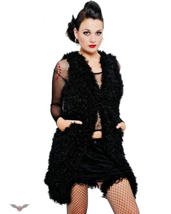 Fake Fur Waistcoat M