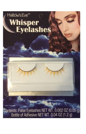 Whisper eyelashes yellow