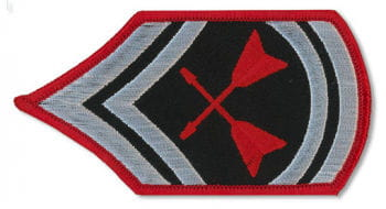 White Patch Armystyle paddle