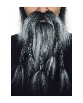 Viking Combi beard Black-Grey Heather