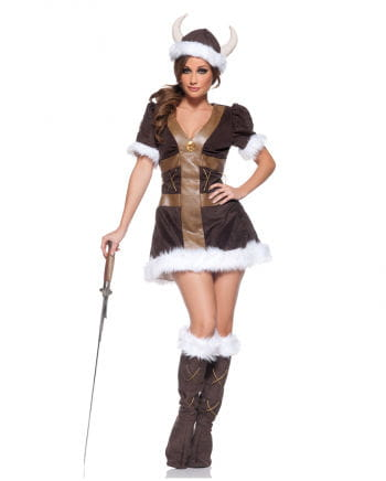 Viking Princess Premium Costume S