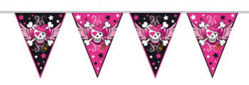 Pirate Girl Pennant Banner