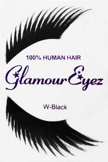Human Hair Eyelashes Black