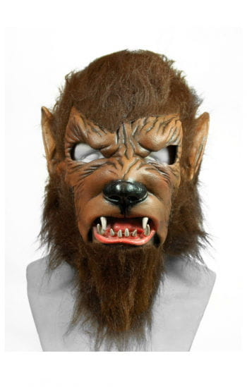 Wolfman Premium Maske