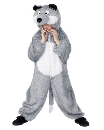 Wolf costume for children
