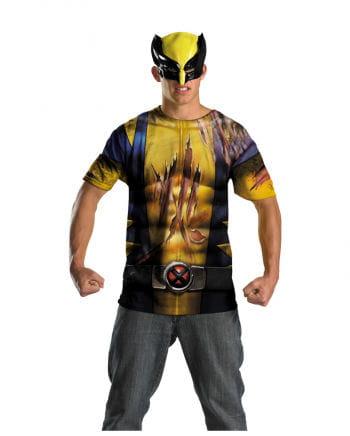 Wolverine Shirt mit Maske Herren