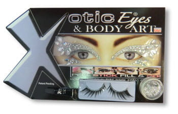 Xotic Eyes Rhinestone Makeup
