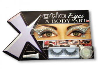 Xotic Eyes Strass weiß