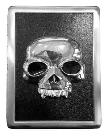 Zigarettenbox mit Vampirschädel