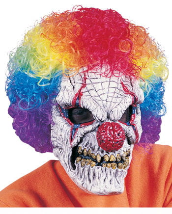 Circus clown horror mask