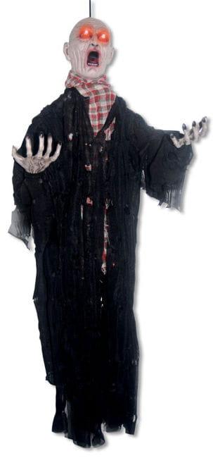 Zombie Animatronic Hanging Figure