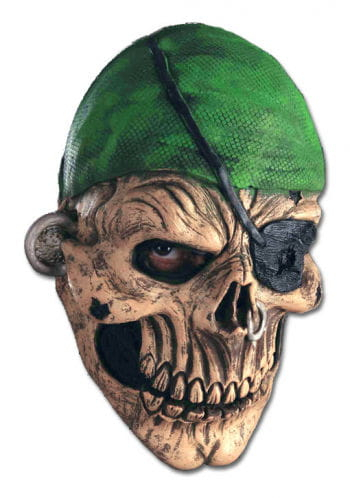 Zombie Pirates Latex Mask