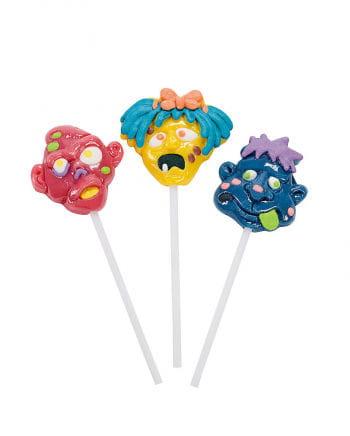 Zombie character lollipop