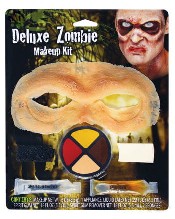 Zombie forehead Halloween makeup kit
