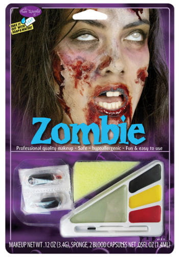 Zombie Girl Make up Kit