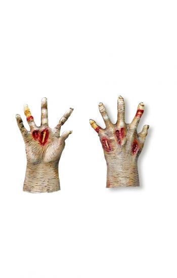 Zombie hands pale