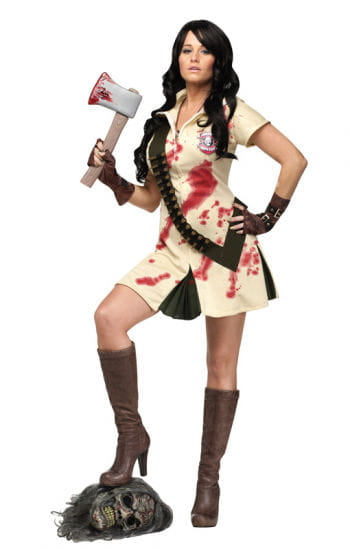 Zombie Hunter Girl Costume