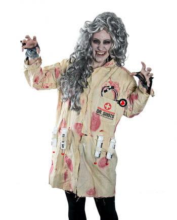 Blutiger Zombie Kittel Unisex