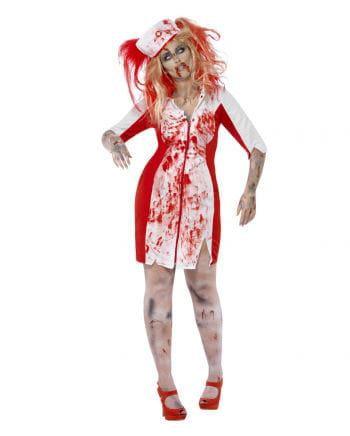 Zombie Nurse Costume Plus Size