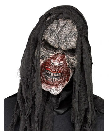 Burnt Zombie Half Mask