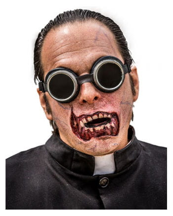 Zombie Mund Latex Applikation