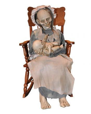 Zombie Granny with baby