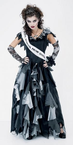 Zombie Prom Queen Costume Size S