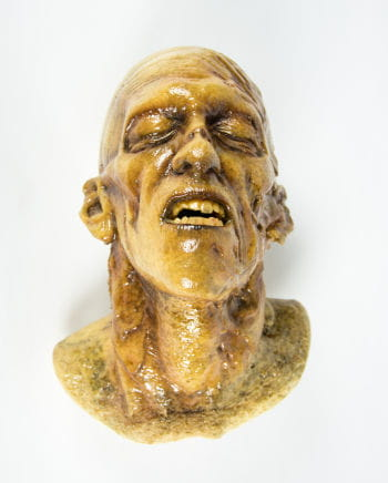 Zombie Schädel Rotten Finish