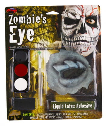 Zombie Skull Eye Make Up
