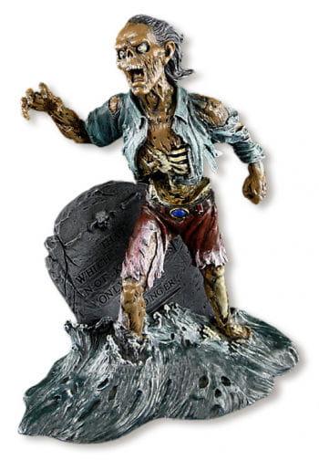 Grabstein Zombie Figur