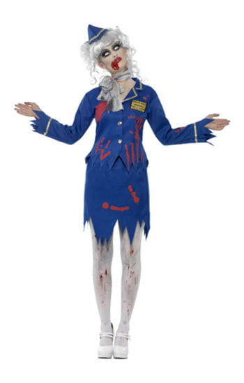 Zombie Stewardess Costume