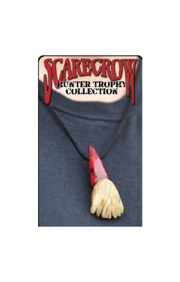 Zombie Hunter Trophy Necklace