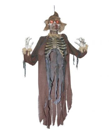 Zombie Scarecrow Hanging Figure