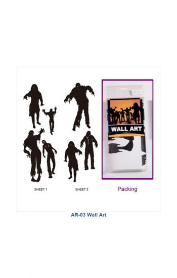 Zombie Wall Stickers