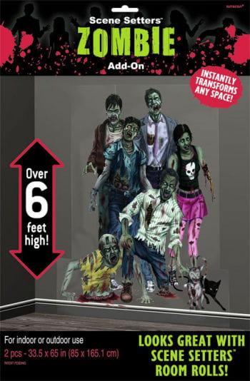 Zombie Family Scene Setter