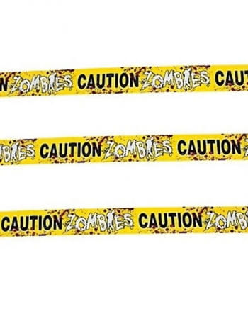 Zombies Caution Tape