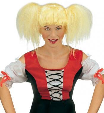 A wig blond Heidi